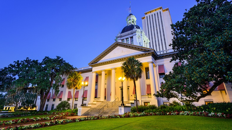 Florida Capitol, Tallahassee FL (Sean Pavone/Shutterstock.com)