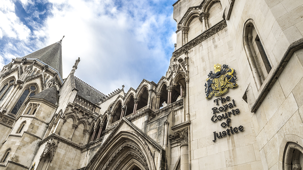 Royal Courts of Justice, London (lazyllama/Shutterstock.com)