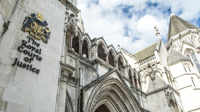 Royal Courts of Justice, London (Willy Barton/Shutterstock.com)