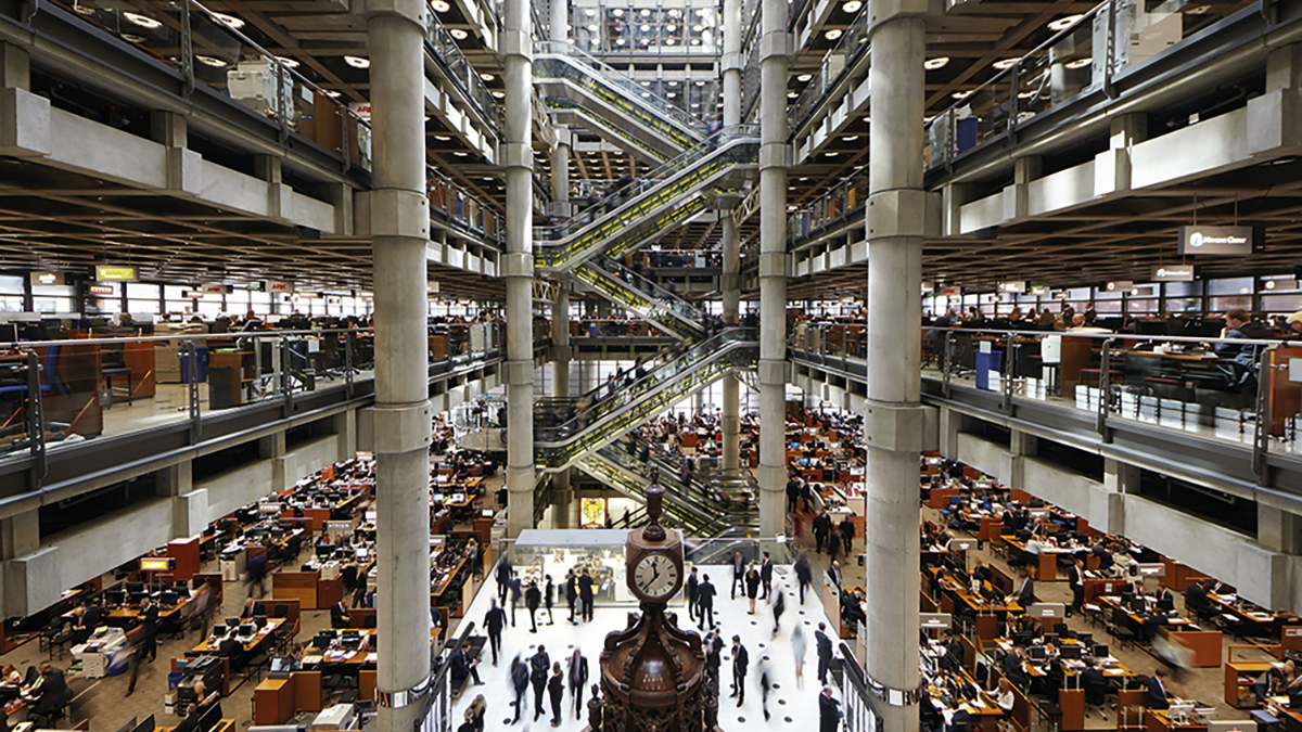 Lloyd's underwriting room