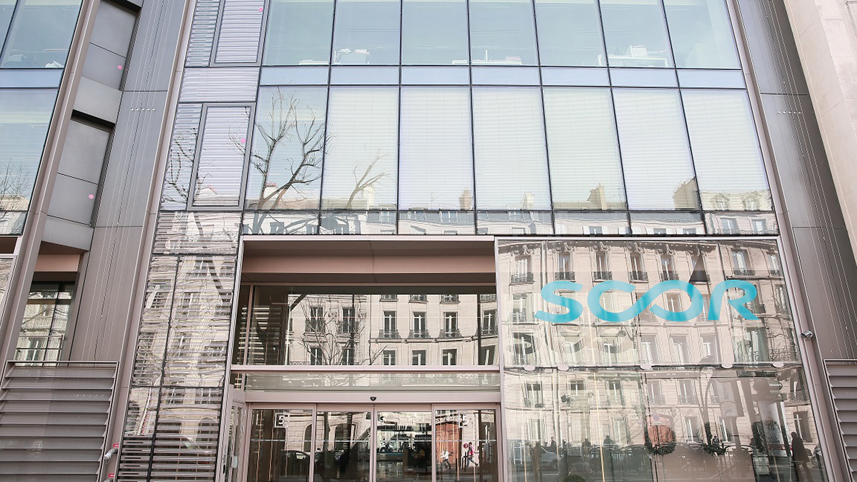Scor head office, Paris