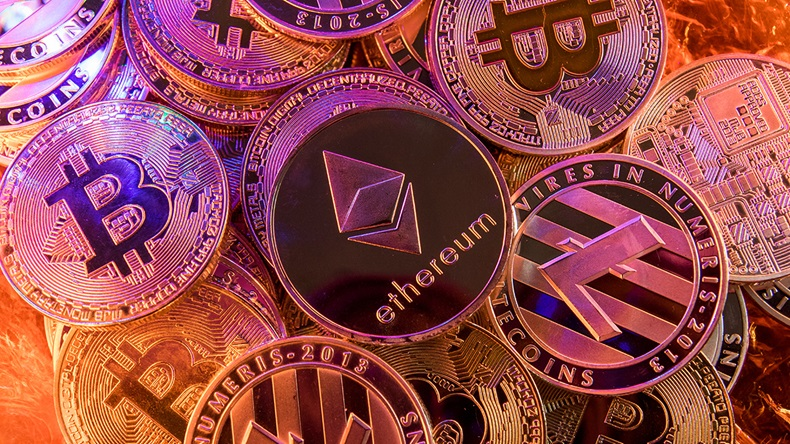 Cryptocurrencies (Dan Eady/Shutterstock.com)