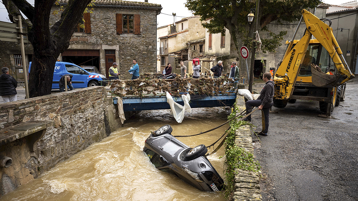 Aude, France flood (2018) (Fred Lancelot/AP)