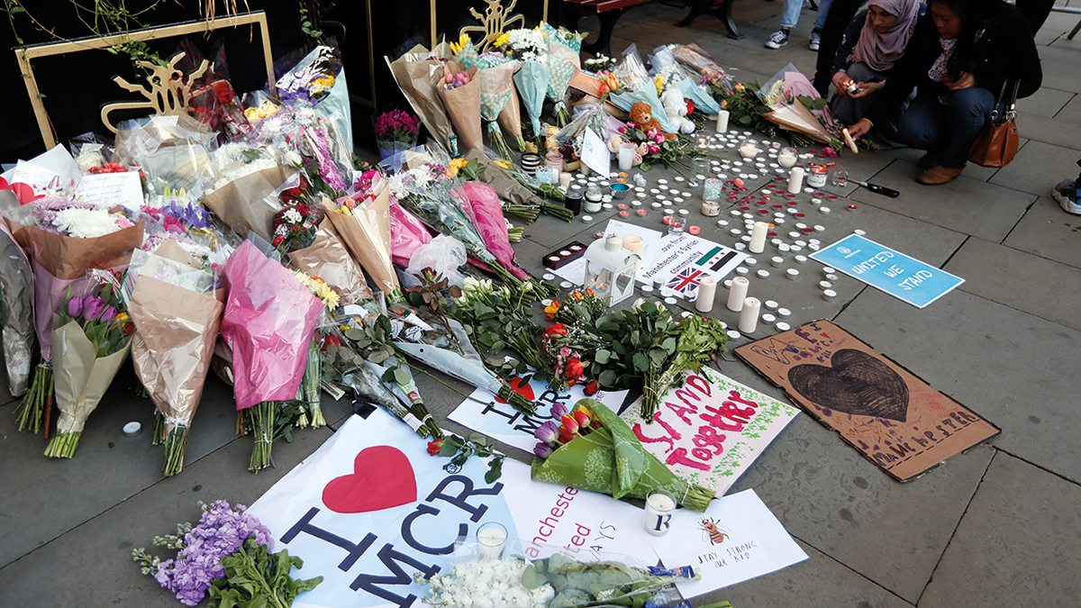 Manchester terror (2017 Kirsty Wigglesworth/AP)