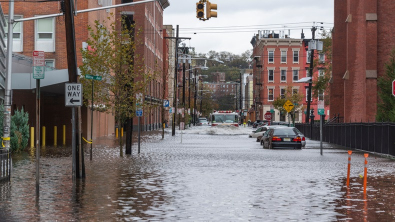 Hurricane Sandy New Jersey flood (2012) (Brian Derr/Shutterstock.com)