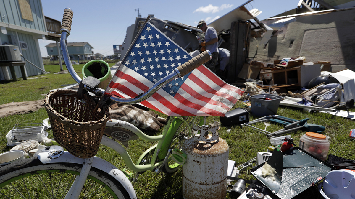 Hurricane Harvey damage (Eric Gay/AP)