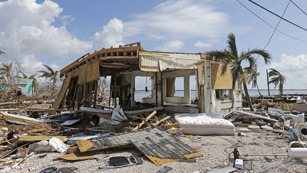 Hurricane Irma damage Florida (2017) (Alan Diaz/AP)