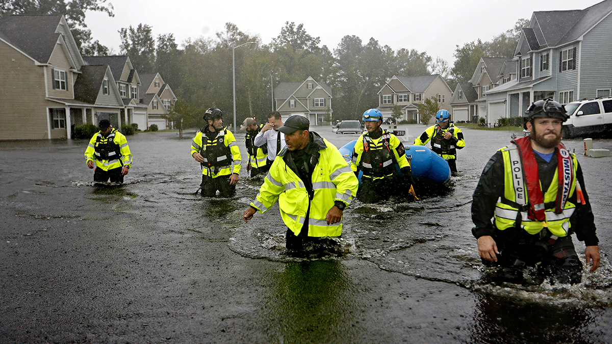 Hurricane Florence flooding (2018) (David Goldman/AP)