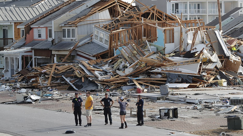 Hurricane Michael Florida damage (2018) (Gerald Herbert/AP)