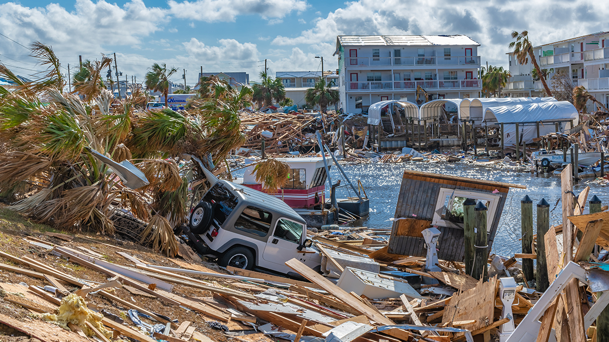 Hurricane Michael Florida damage (2018) (Terry Kelly/Shutterstock.com)