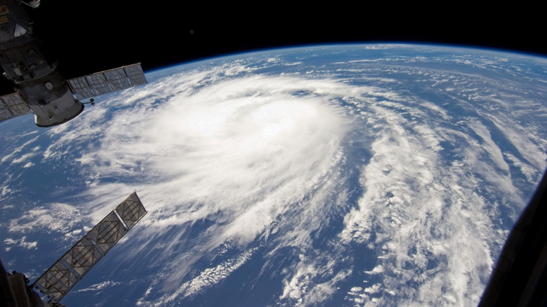 Hurricane from space (Strahil Dimitrov/Shutterstock.com)