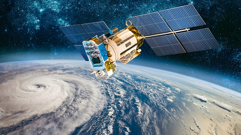 Hurricane from space (Andrey Armyagov/Shutterstock.com)
