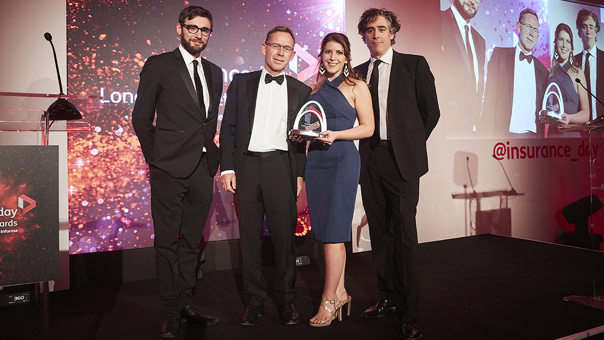 Underwriting Team of the Year 2018 Hiscox