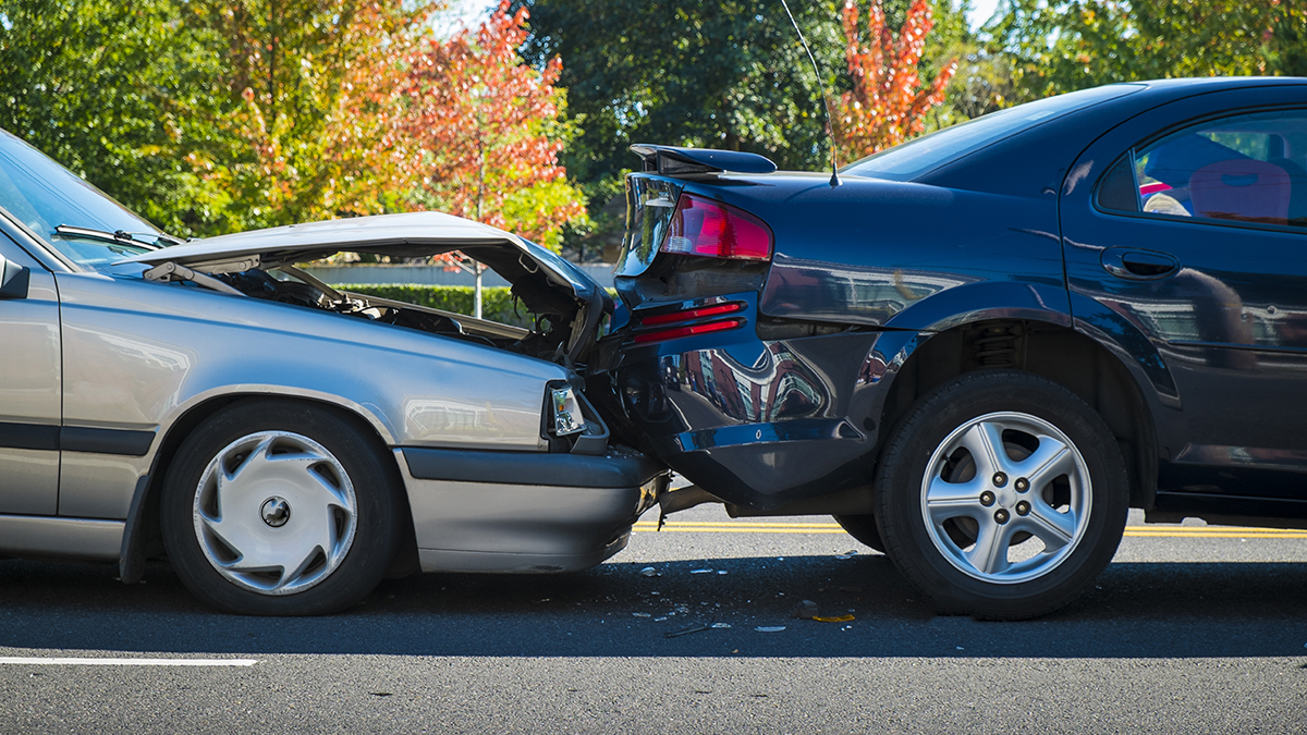Car accident (Robert Crum/Shutterstock.com)