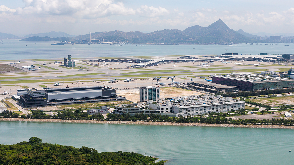 Hong Kong International Airport (Phillip Kraskoff/Shutterstock.com)