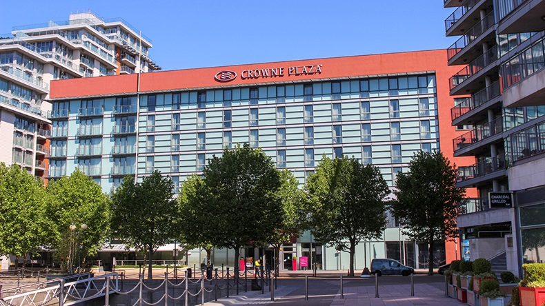 Crowne Plaza hotel, London (CK Travels/Shutterstock.com)