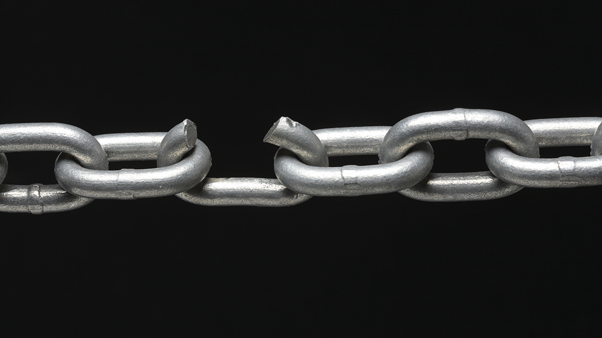 Weak link (Hurst Photo/Shutterstock.com)