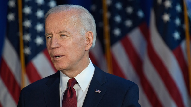 Joe Biden, Democratic Party (Ron Adar/Shutterstock.com)
