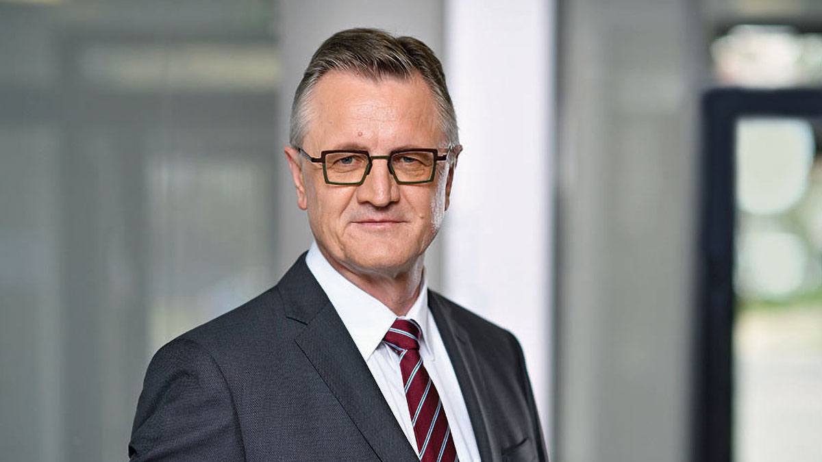 Frank Schaar, chief executive, Deutsche Rück