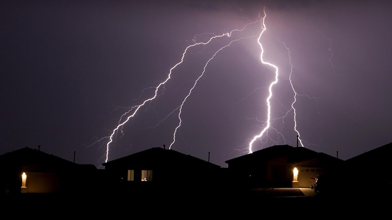 Lightning strike (Jhaz Photography/Shutterstock.com)