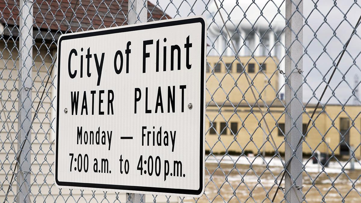 Flint, Michigan water plant (Linda Parton/Shutterstock.com)